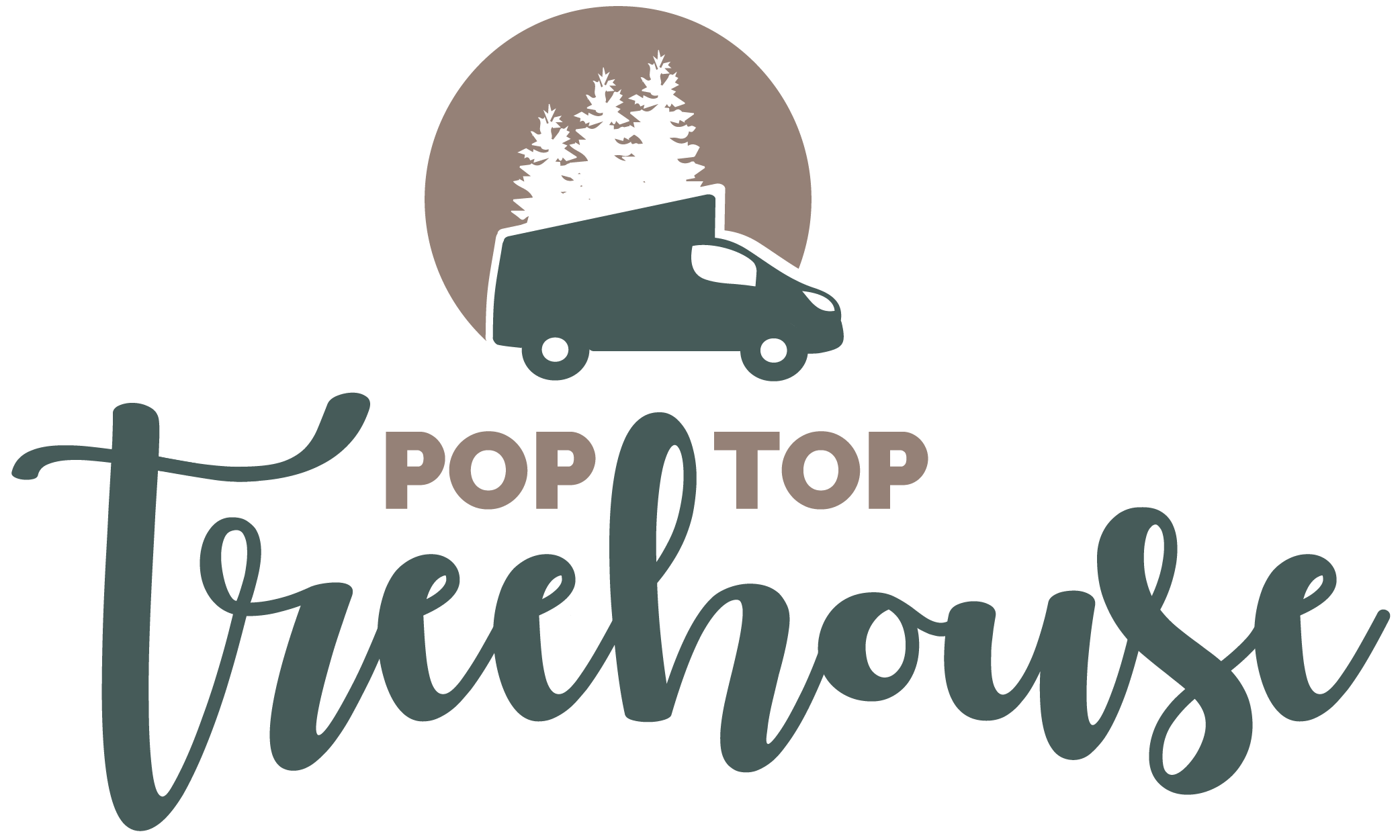 Pop Top Treehouse Logo