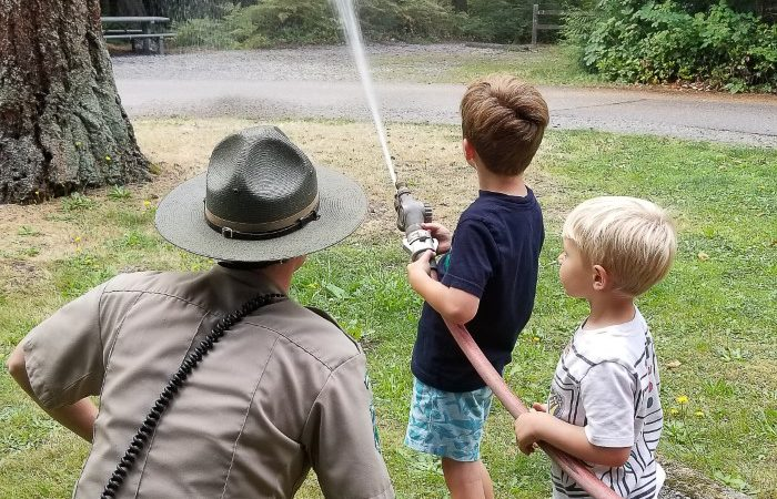Fire Safety with Washington State Rangers