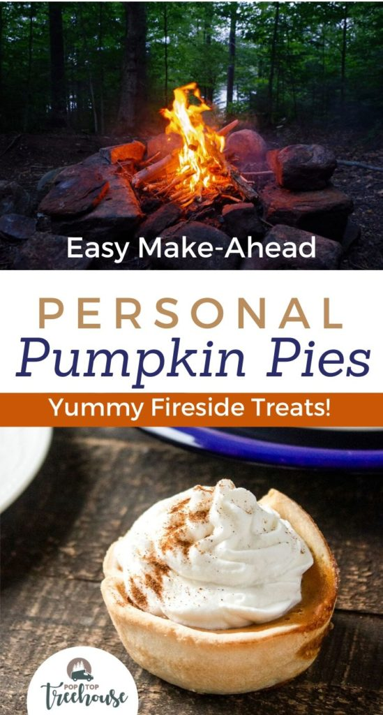 personal pumpkin pies recipe