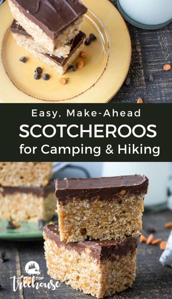 easy, make-ahead scotcheroos for camping