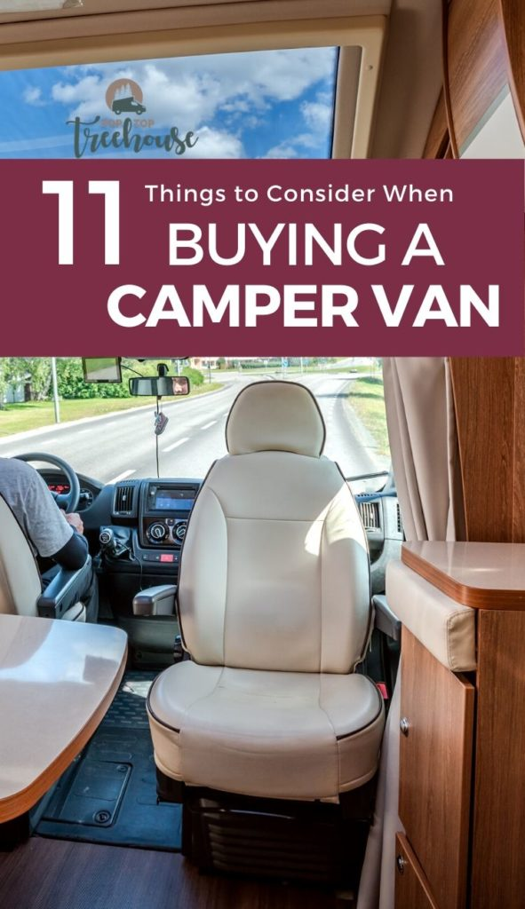 what to consider when buying a camper van