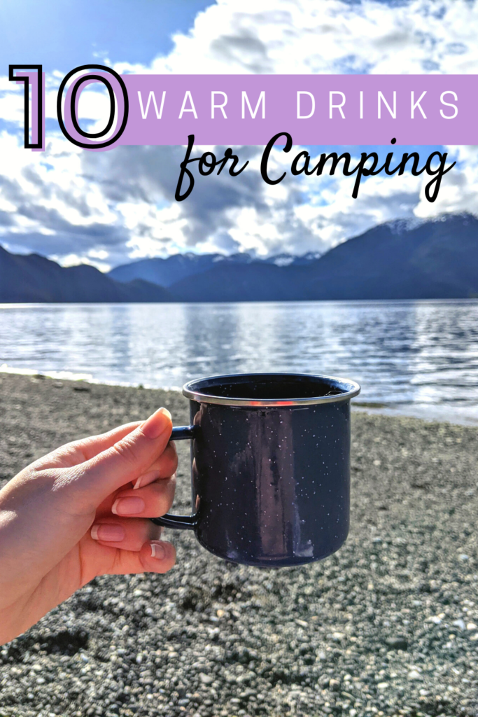 10 warms drinks for camping