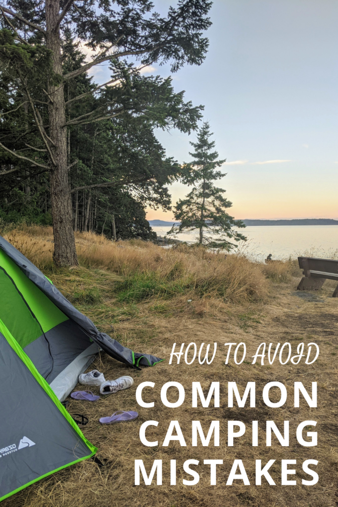 How to Avoid Common Camping Mistakes