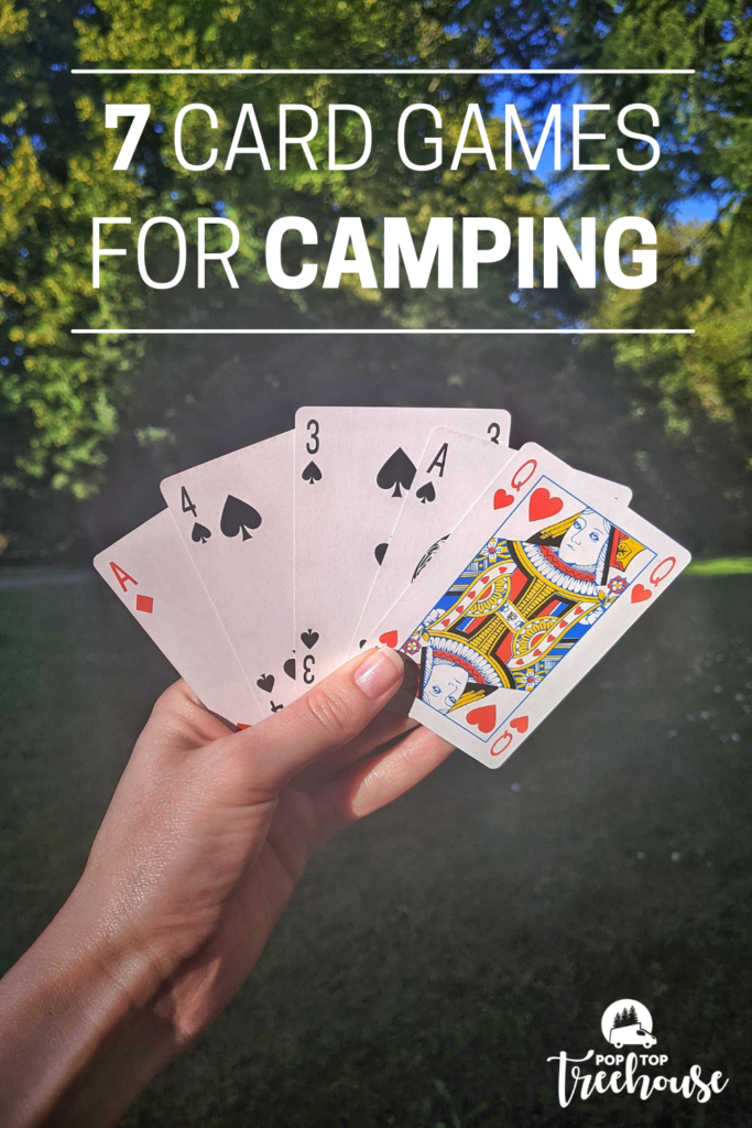 7 group card games for camping