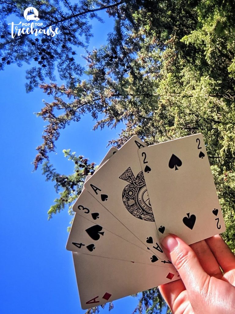 card games when camping